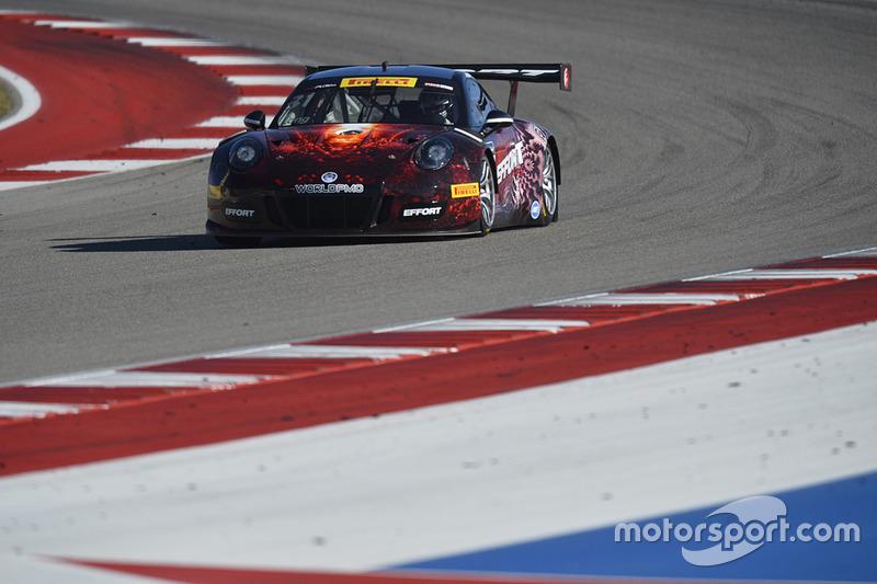 #31 EFFORT Racing Porsche 911 GT3 R: Patrick Long
