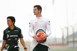 Alexander Rossi and Rio Haryanto, EQ8 Caterham Racing