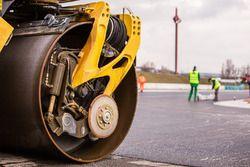 Hungaroring yeniden asfaltlanma çalışması