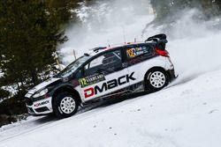 Ott Tanak, Raigo Molder, M-Sport Ford Fiesta WRC