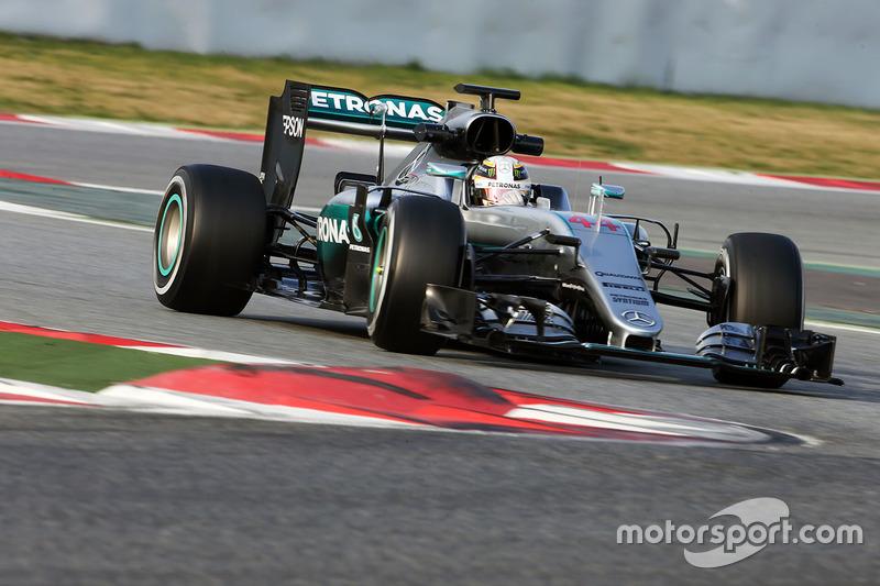 Die meisten Runden: Mercedes W07