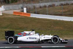 Valtteri Bottas, Williams Martini Racing FW38