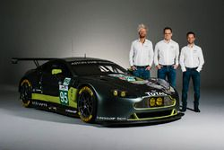 #95 Aston Martin Racing Aston Martin V8 Vantage GTE: Nicki Thiim, Marco Sorensen, Darren Turner