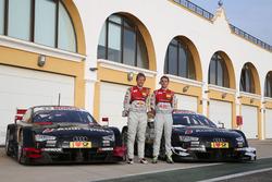 Mattias Ekström, Jamie Green, Audi RS 5 DTM auto de prueba
