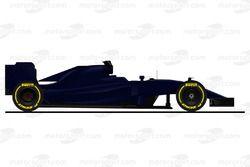 Машина Scuderia Toro Rosso STR11