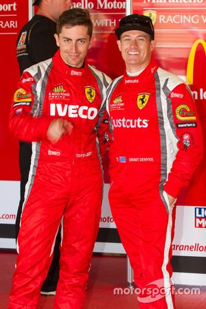 #88 Maranello Motorsport Ferrari 458 Italia GT3: Tony D'Alberto, Grant Denyer
