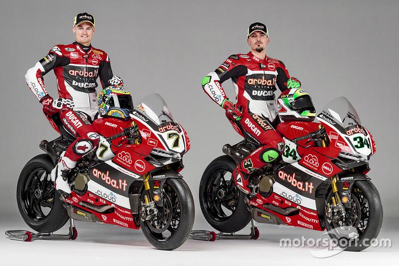 Präsentation Team Aruba.it - Ducati Superbike 2016