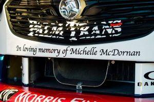 Michelle McDornan dedicate message