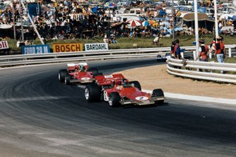 Emerson Fittipaldi, Lotus 72C Ford, Reine Wisell, Lotus 72C Ford