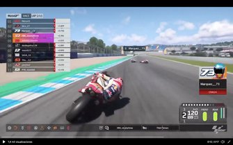 GP España virtual MotoGP