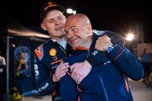 Andrea Adamo, Team principal Hyundai Motorsport, Ott Tänak, Hyundai Motorsport