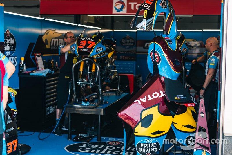 Moto di Augusto Fernandez, Marc VDS Racing