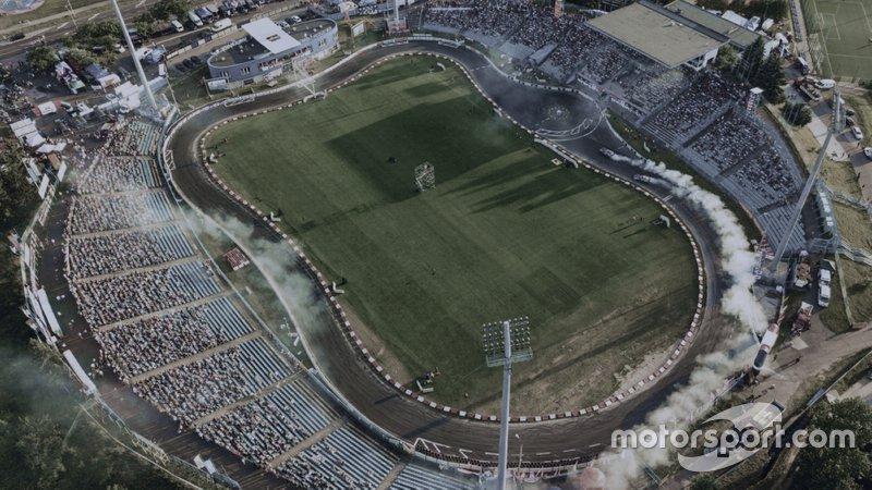 Corridas em estádios