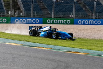 Giancarlo Fisichella, Borland Racing Developments goes off the track and over the grass