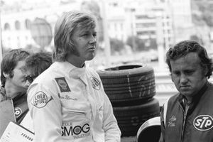 Ronnie Peterson con el director de March Alan Rees