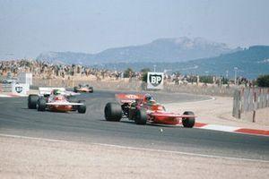 Ronnie Peterson, March 711 Ford, Henri Pescarolo, March 711 Ford, GP di Francia del 1971