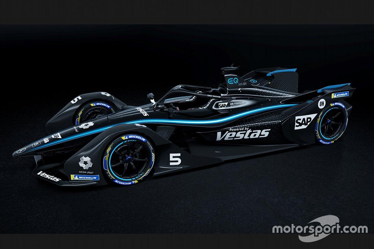 La livrée noire de Mercedes Benz EQ