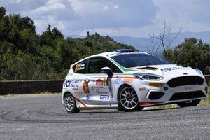 Emanuele Rosso, Andrea Ferrari, ACI Team Italia, Ford Fiesta Rally4