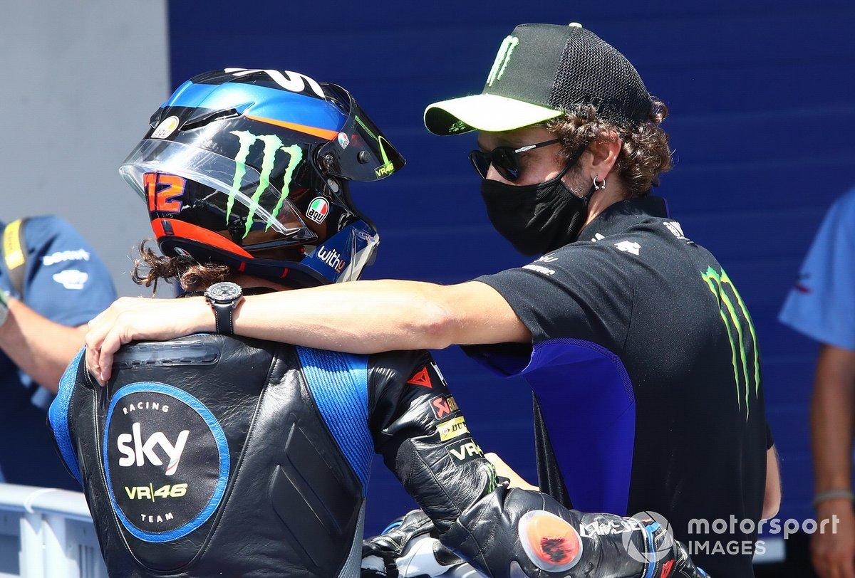 Marco Bezzecchi, Sky Racing Team VR46, Valentino Rossi