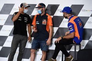 Johann Zarco, Avintia Racing, Brad Binder, Red Bull KTM Factory Racing, Miguel Oliveira, Red Bull KTM Tech 3
