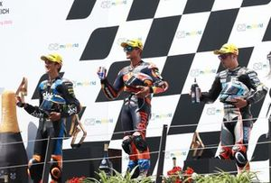 Luca Marini, Sky Racing Team VR46 Jorge Martin, Red Bull KTM Ajo Marcel Schrotter, Intact GP