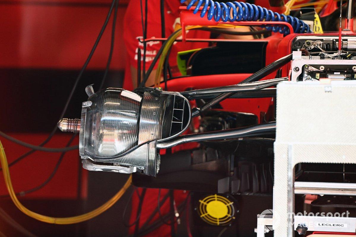Ferrari SF1000: Vorderradbremse