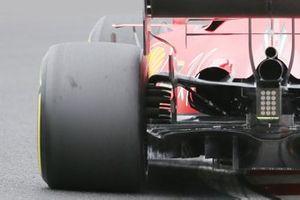 Vista trasera del Ferrari SF1000