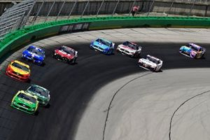 Matt DiBenedetto, Wood Brothers Racing, Ford Mustang Menards/Quaker State, Clint Bowyer, Stewart-Haas Racing, Ford Mustang One Cure, Joey Logano, Team Penske, Ford Mustang Shell Pennzoil