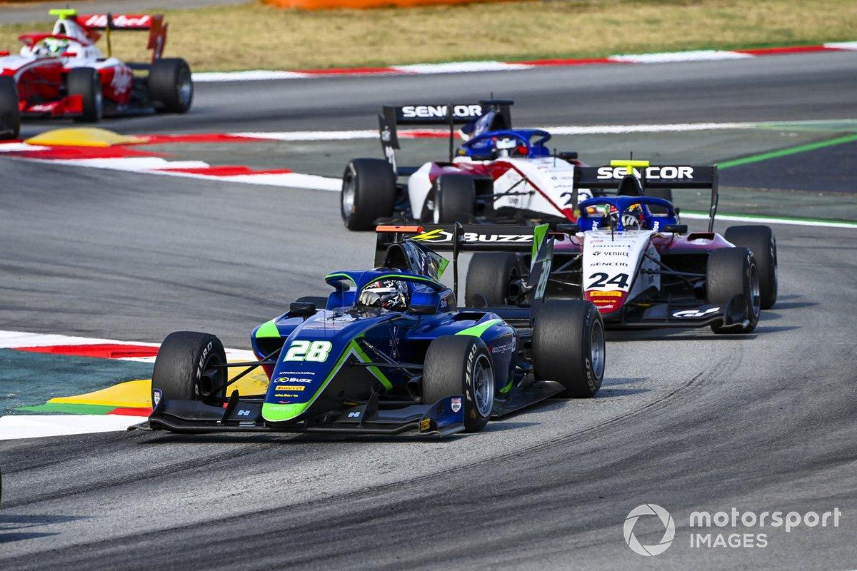 Cameron Das, Carlin Buzz Racing, Igor Fraga, Charouz Racing System