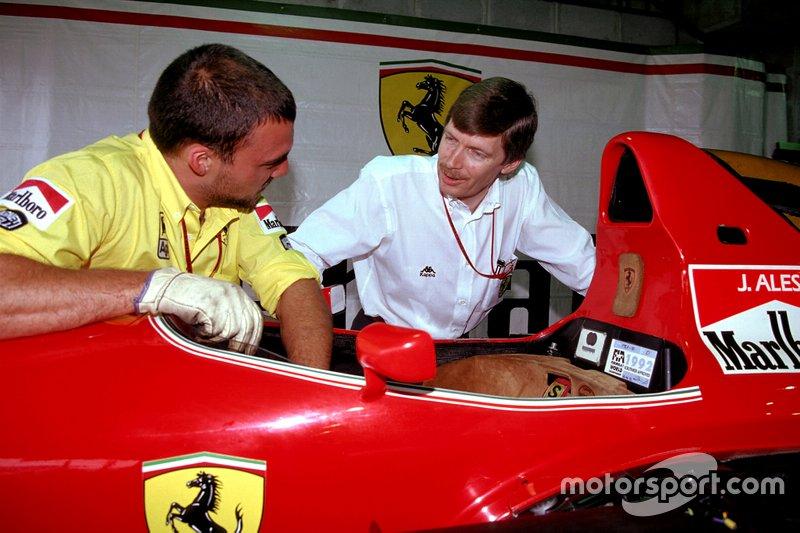 Jean-Claude Migeot, aerodinamista de Ferrari
