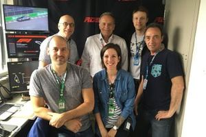 Canadian TV Team with Bertrand Houle and Pierre Houde