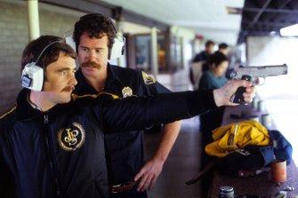 Nigel Mansell, Lotus al poligono di tiro della polizia locale, GP degli Stati Uniti del 1982