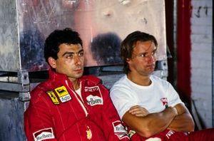 Michele Alboreto, Ferrari Rene Arnoux, Ferrari