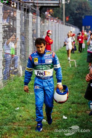 Jean Alesi, Benetton walks back