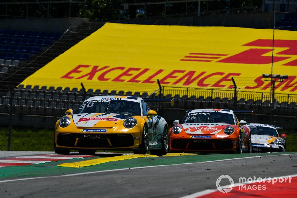 Lucas Groeneveld, Team GP Elite precede Jesse van Kujik, Team GP Elite