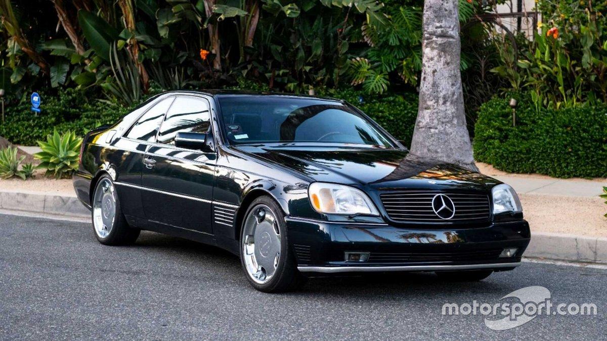 El Mercedes Benz S600 de Michael Jordan