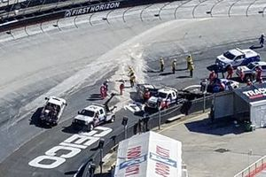 Track Cleanup at Red flag