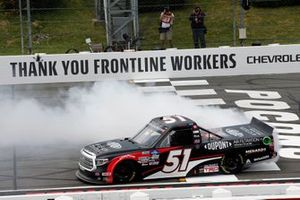 Brandon Jones, Kyle Busch Motorsports, Toyota Tundra DuPont Air Filtration/Menards