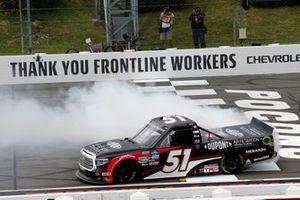 Brandon Jones, Kyle Busch Motorsports, Toyota Tundra DuPont Air Filtration/Menards