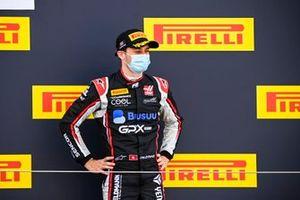 Podio: tercer lugar Louis Deletraz, Charouz Racing System