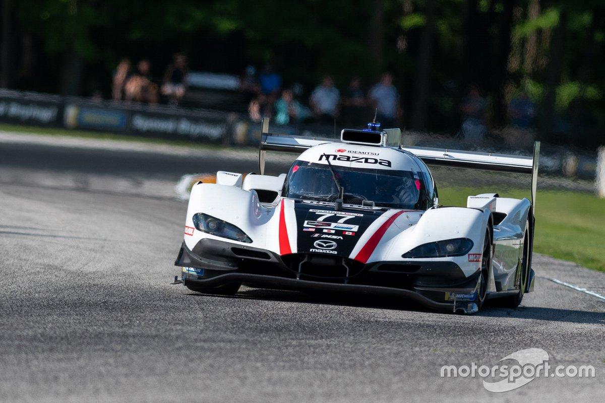 #77 Mazda Team Joest Mazda DPi: Oliver Jarvis, Tristan Nunez