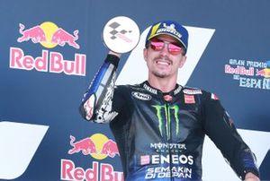 Second place Maverick Vinales, Yamaha Factory Racing