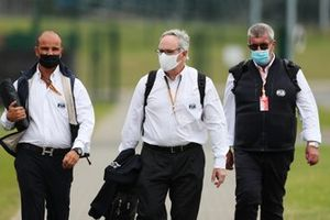 FIA officials and race steward Vitantonio Liuzzi