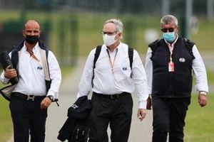 Витантонио Льюцци в роли судьи FIA