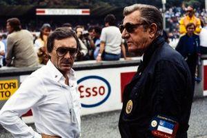 Bernie Ecclestone und Jean-Marie Balestre