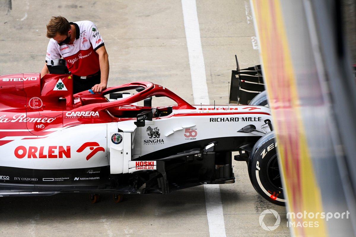 Monoplaza de Kimi Raikkonen, Alfa Romeo Racing C39
