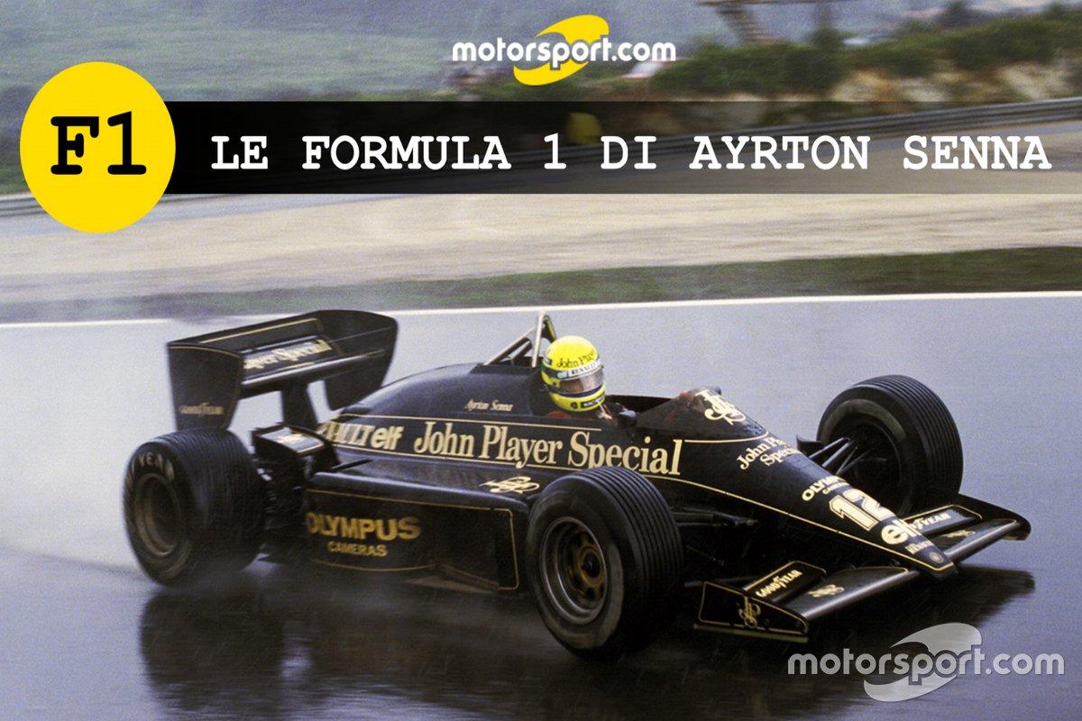 Le Formula1 di Ayrton Senna