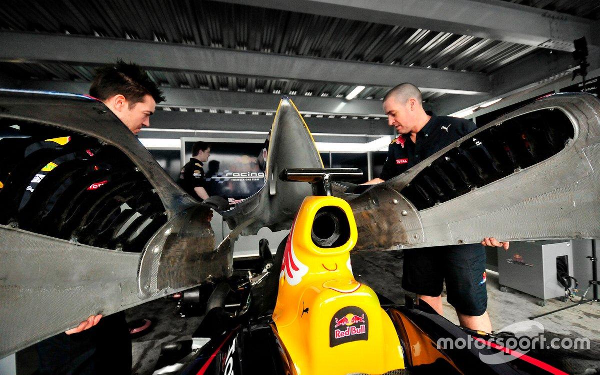 Red Bull Racing en el Autódromo de Tocancipá