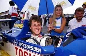Michael Schumacher, WTS Motorsport, con su manager Willi Weber