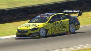 Digital render of Alex Davison's Team Sydney Holden Commmodore